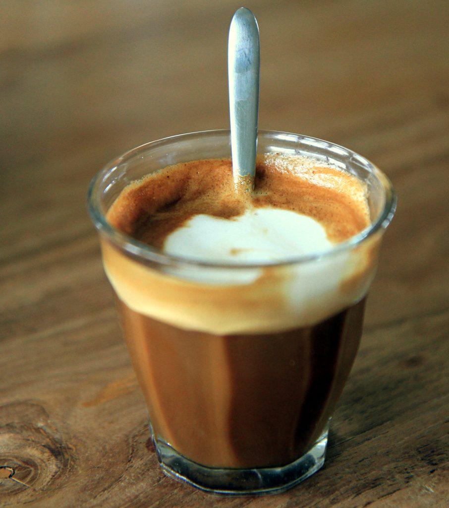 Cortado kava u Španjolskoj