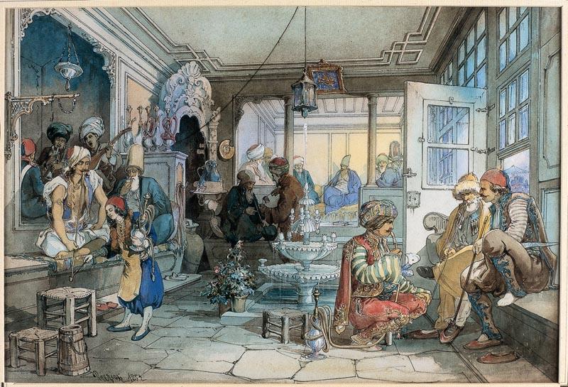 Prvi kafić u Istanbulu